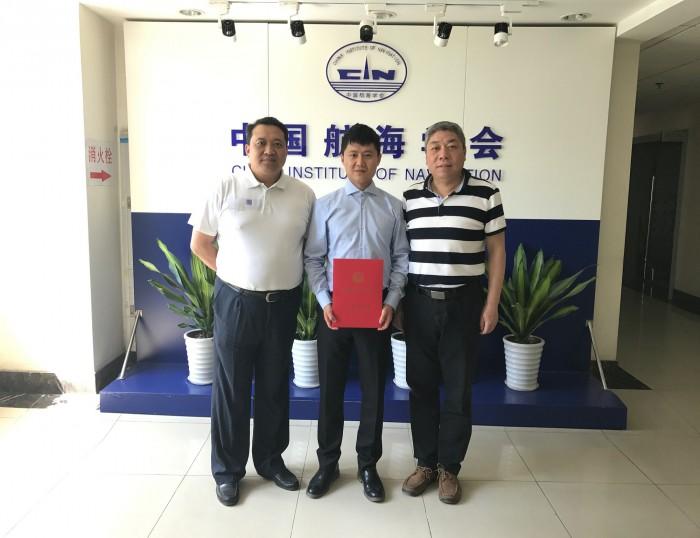Dr. Wan Zheng exchanging ideas at CIN