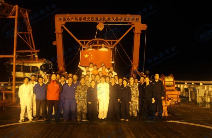2013年6月北海救112轮神十海上应急保障  (1)