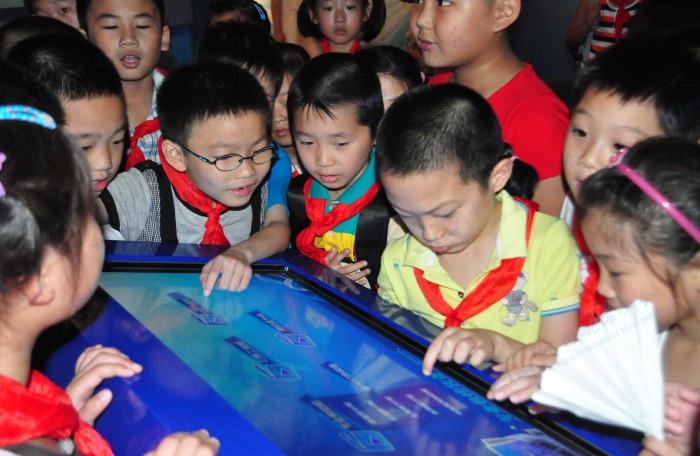 主要成果——杭州路第一小学参观中国救捞陈列馆