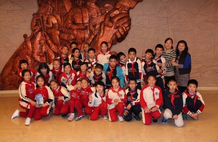 主要成果——六一小学师生参观中国救捞陈列馆