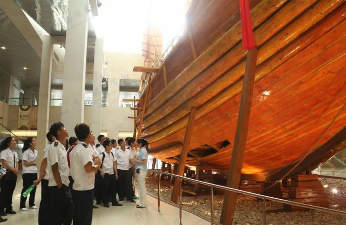 参观航海博物馆宝船