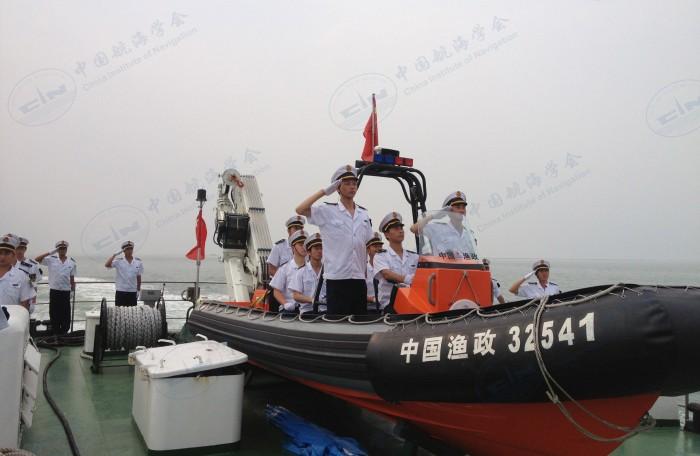 参加中国航海日活动
