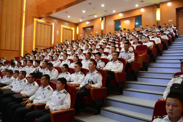 图为中国航海学会2016年学术年会会场