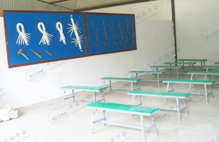 钢丝插揽实训室