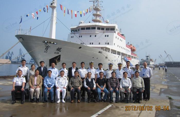 2012年06月船舶动态测控与航海仿真实验室学术委员会会议