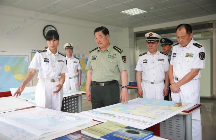 军委后勤保障部赵克石部长来社检查指导