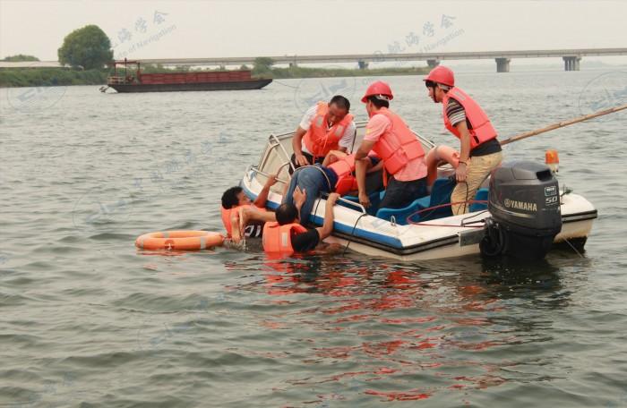 落水人员救援