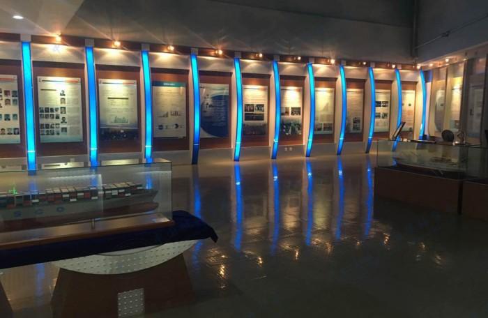 内现代航运教育展厅