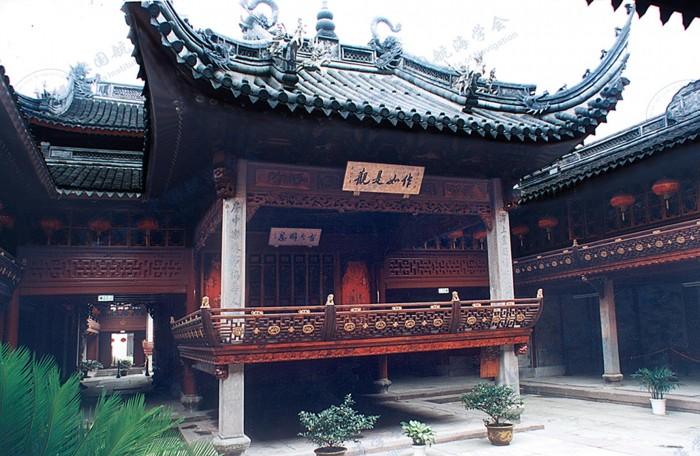 庆安会馆后戏台