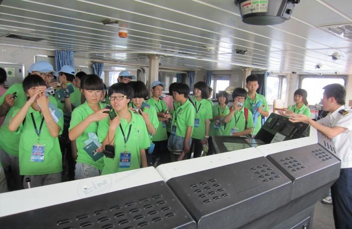 2013年7月青少年高校科学营海大分营