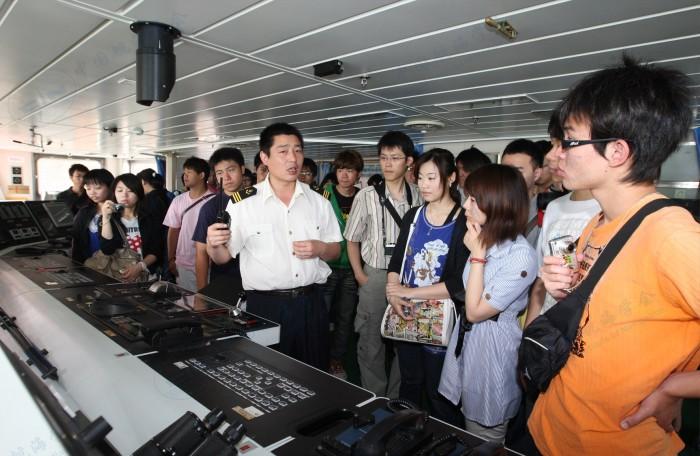 台湾学生参观