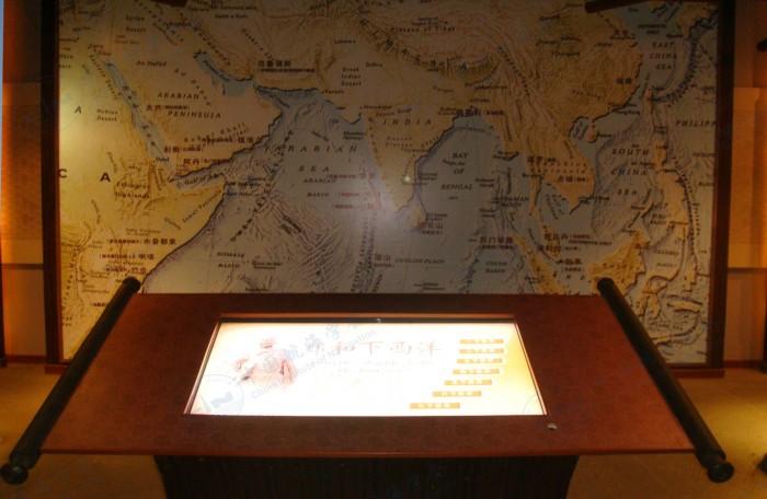 郑和七下西洋航海路线图